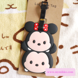 minnie mickey luggate tag