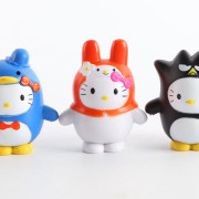 sanrio pudding ornaments