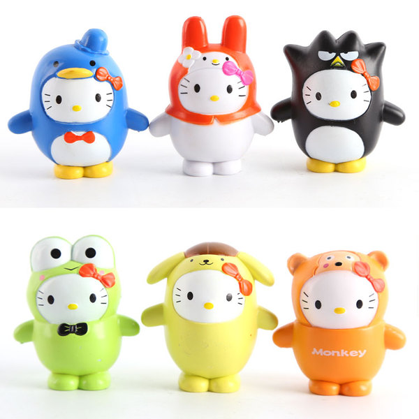sanrio pudding ornaments 4